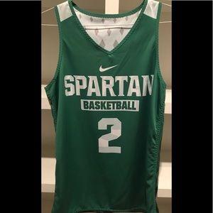 Michigan State Spartan style Jersey Camo 🔥 Small